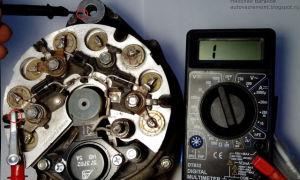 Как прозвонить генератор ВАЗ 2110 мультиметром: начало работы и частые ошибки