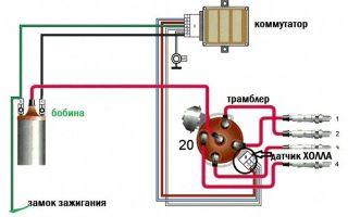 Как выставить зажигание на ВАЗ:бесконтактное заведение с микропроцессорным коммутатором