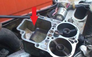 Как почистить карбюратор ВАЗ 2106: промывка, настройка и ремонт