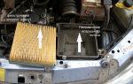 Замена воздушного фильтра на ВАЗ 2114 и 2115: рекомендуемая последовательность действий