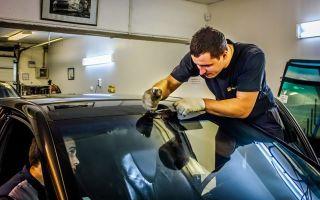 Как самостоятельно снять поврежденное стекло автомобиля: алгоритм действий