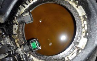 Как заменить топливный фильтр Лада Калина своими руками:установка новой сеточки бензонасоса
