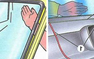 Как снять и поставить ветровое стекло ВАЗ-2109: способы установить своими руками