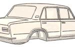 Замена втулок реактивных тяг (штанг) автомобилей ВАЗ-2101, 2102, 2104, 2105, 2106, 2107: алгоритм действий