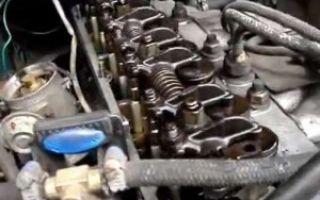 Регулировка клапанов двигателя змз-402 вручную