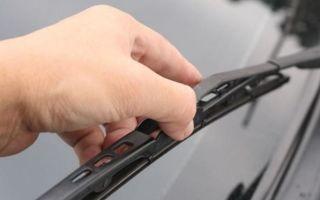 Бескаркасные дворники: как снять и поменять на машине, замена щеток стеклоочистителей