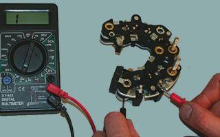 Как проверить щетки генератора ВАЗ 2110 мультиметром: предварительные работы и алгоритм действий
