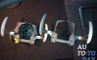 Описание подрулевых лепестков переключения передач: что это, фото и видео