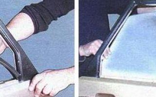 Как вставить стекло задней двери ВАЗ 2109: замена стеклоподъемника и подробная инструкция