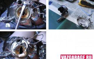 Как снять фару на ВАЗ 2110: фото и описание действий, необходимые инструменты