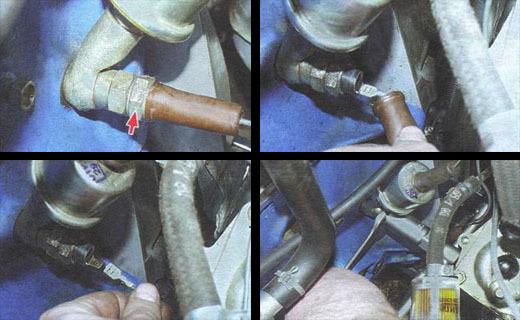 Датчик давления масла ВАЗ 2106 и его установка на другие машины