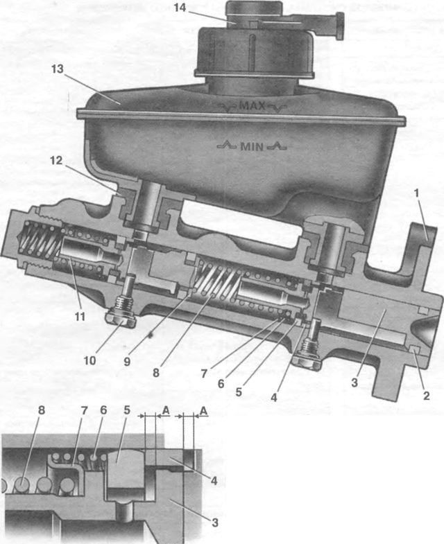 Пошаговая инструкция как заменить главный тормозной цилиндр на ваз 2110