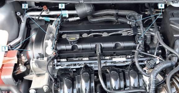 Ford Focus 2 двигатель 1.6, характеристики, устройство