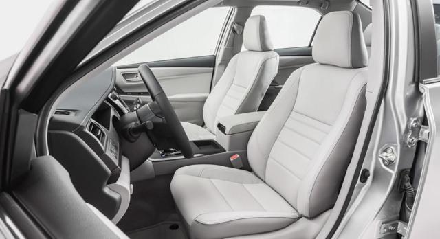 Toyota Camry (2015-2016) - харктеристики, комплектации, фото, видео