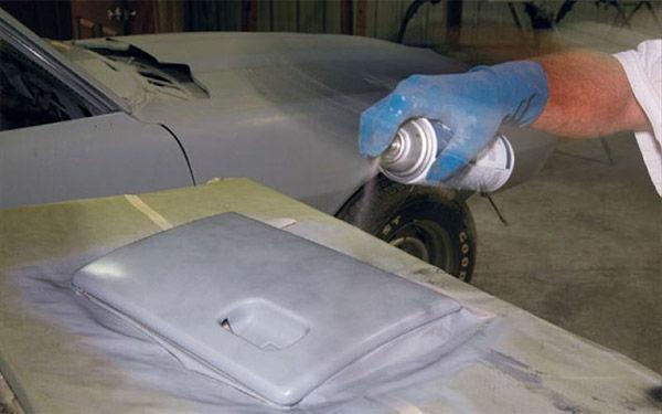 Покраска бампера автомобиля своими руками, локальная окраска с использование баллончика