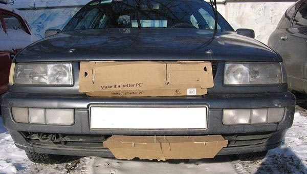 Как утеплить капот автомобиля своими руками на зиму все способы