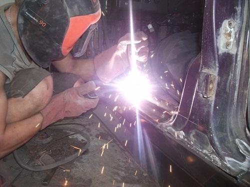 Как своими руками сделать ремонт кузова ваз 2109 - инструкция