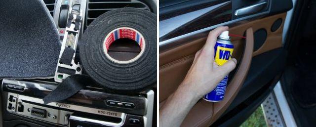 Как избавиться от скрипа пластика в салоне автомобиля? Секреты борьбы со скрипом