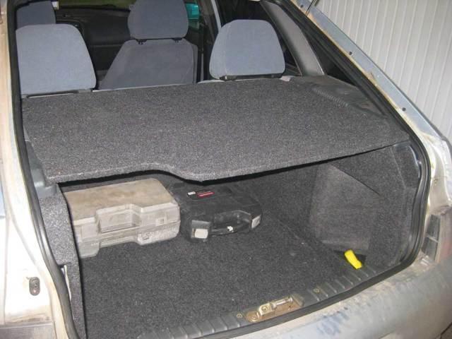 Объем багажника ВАЗ-2112 в литрах при сложных и разложенных сиденьях