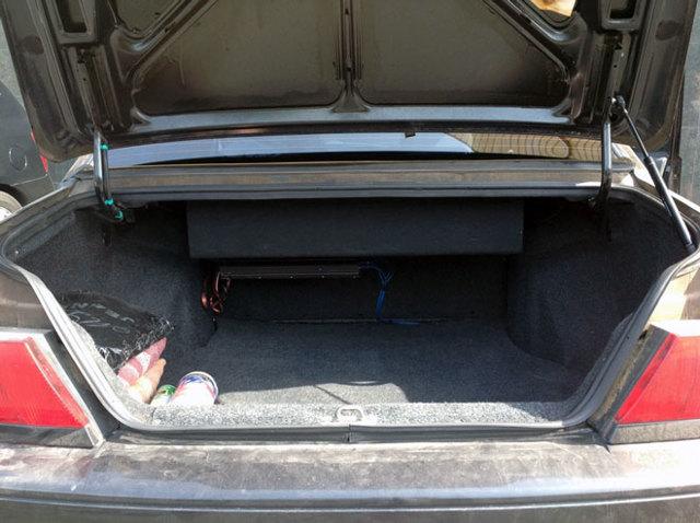 Объем багажника ВАЗ 2113, 2114, 2115 в литрах - размеры и габариты