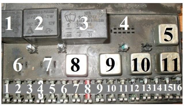 Блок предохранителей Ваз 2113 – где находиться какой за что отвечает проверка и замена своими руками