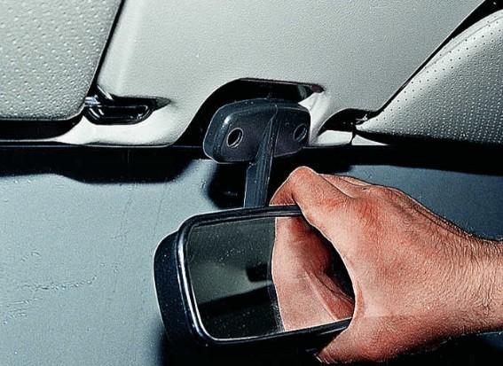 Как снять и разобрать боковое зеркало заднего вида автомобиля: инструкция