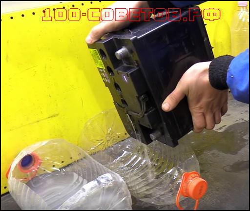 Восстановление и обслуживание аккумулятора автомобиля своими руками в домашних условиях (видео)