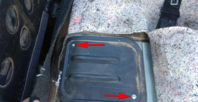 Замена бензонасоса и фильтра грубой очистки на автомобилях ВАЗ 2113, 2114, 2115