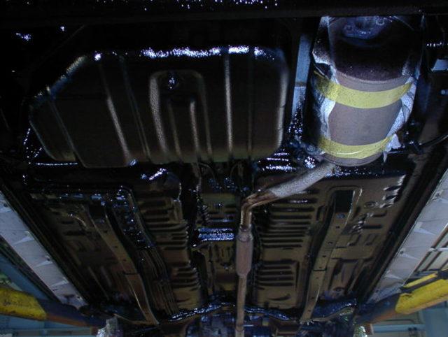 Антикорозийная обработка автомобиля - материалы для защиты кузова от коррозии своими руками