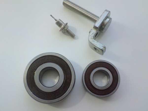 Замена контактных колец и подшипников генератора ВАЗ 2110, 2111, 2112