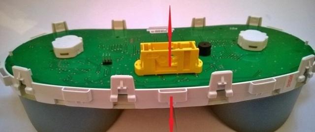 Снятие и установка панели (торпедо) Гранты