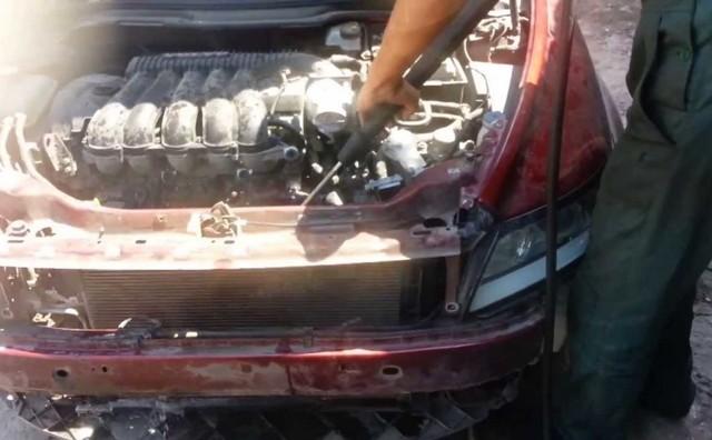 Kühlung или как промыть радиатор охлаждения двигателя не снимая его с авто