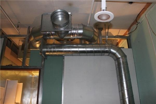 Вентиляция в покрасочной камере своими руками. Расчет системы и схема работы.
