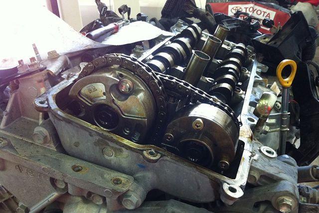 Бензиновый двигатель Тойота Камри 2.5 л. устройство ГРМ, технические характеристики Camry 2.5