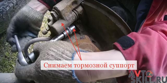 Как смазать поворотный кулак на уаз буханка