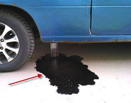 Как исправить запойть трещину не снимая бензобаки