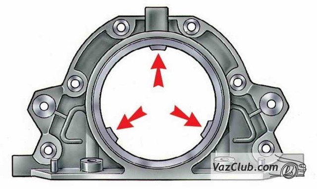 Как заменить подшипник коленвала ВАЗ 2105 2106 2107