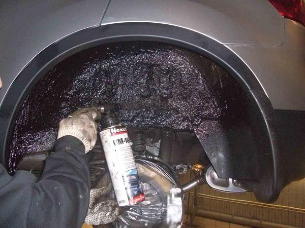 Как покрасить пороги автомобиля антигравием – полезные советы