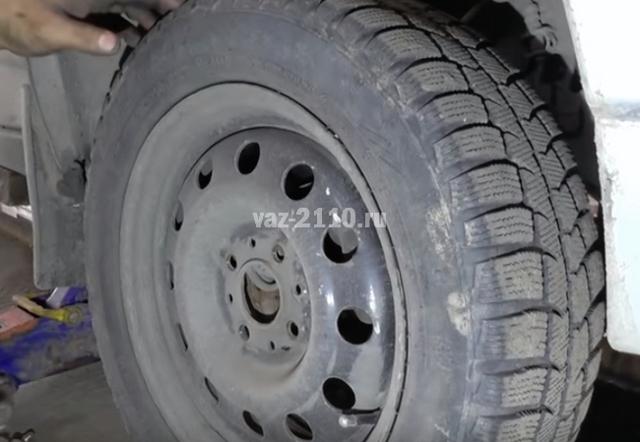 Как проверить рулевые наконечники ВАЗ 2110