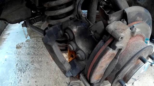 Замена тормозных колодок на ваз 21214 нива