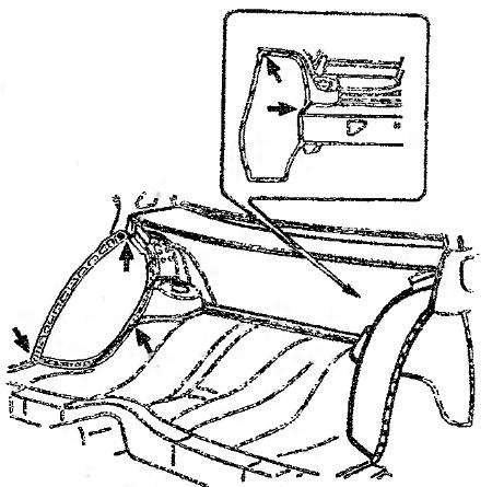 Как заменить заднюю арку своими руками на автомобиле