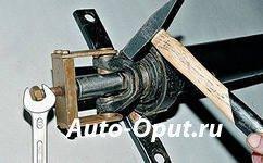 Замена подвесного подшипника карданного вала ВАЗ 2107