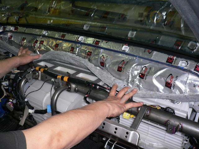 Как сделать шумоизоляцию двигателя и моторного отсека