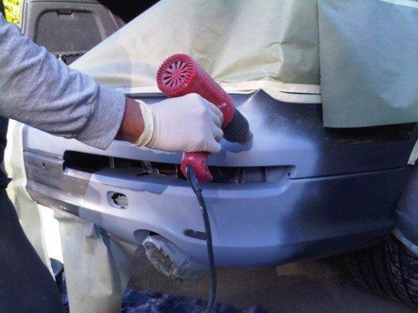 Делаем бампер из монтажной пены или пенопласта